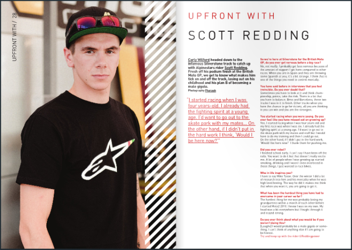 INTERVIEW - SCOTT REDDING - RWD MAGAZINE