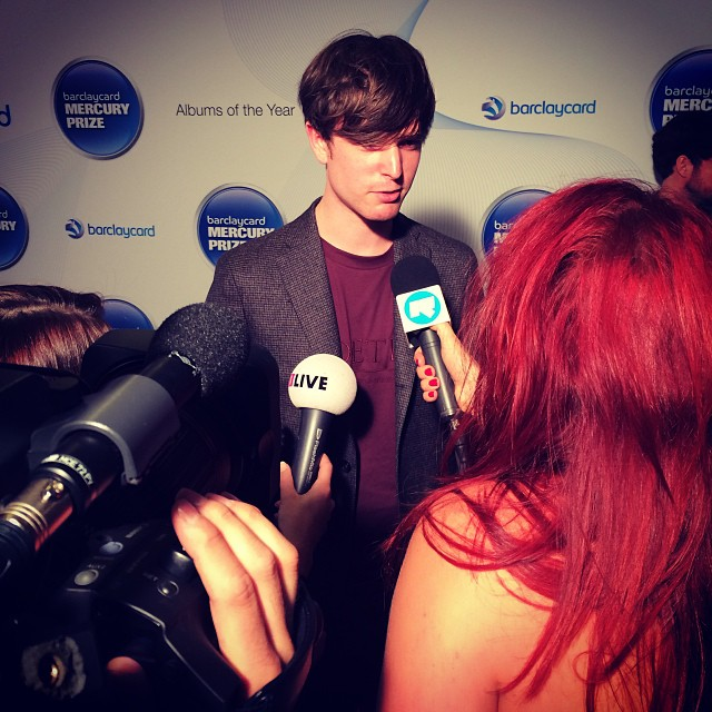 MERCURY MUSIC PRIZE 2013  - JAMES BLAKE
