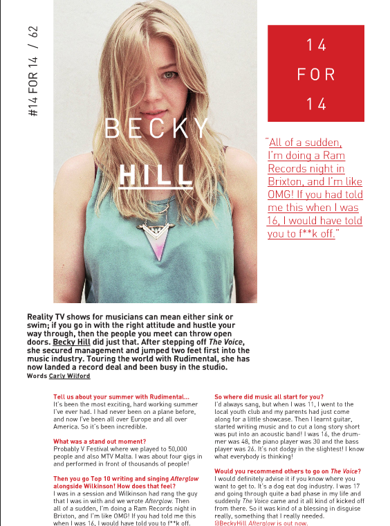 CARLY WILFORD INTERVIEW BECKY HILL RWD