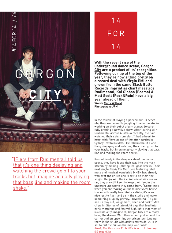 INTERVIEW GORGON CITY CARLY WILFORD RWD MAGAZINE