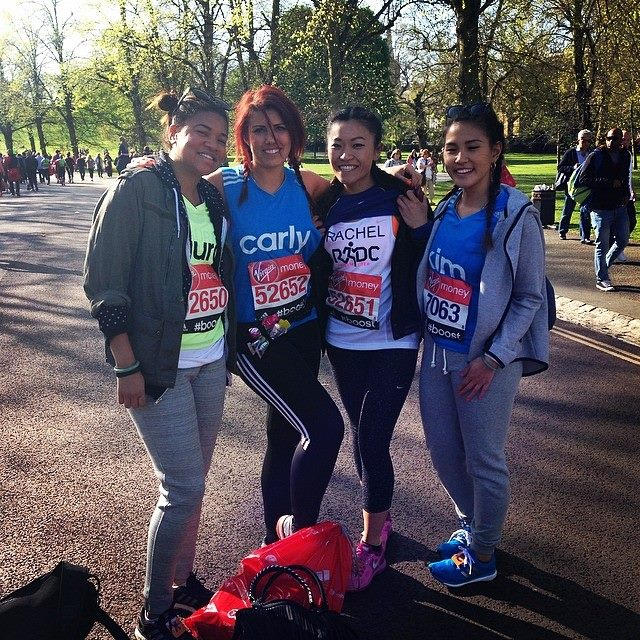 FOOD & LYCRA ADIDAS 2014 LONDON MARATHON CARLY WILFORD