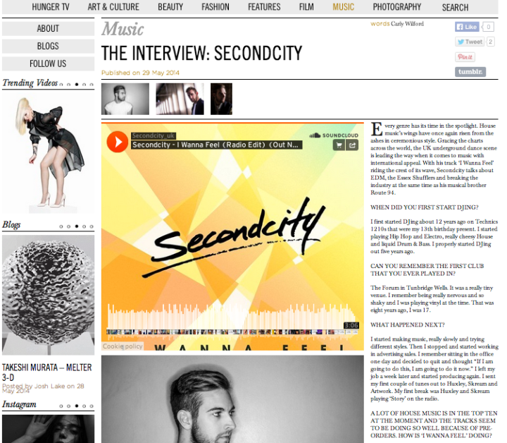 CARLY WILFORD INTERVIEW SECONDCITY HUNGER MAGAZINE