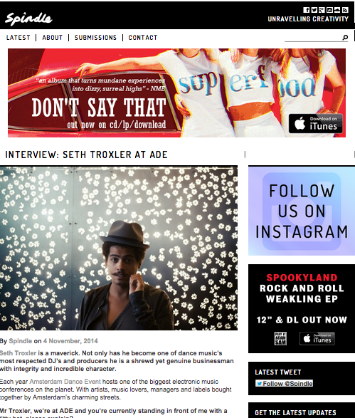 SETH TROXLER INTERVIEW CARLY WILFORD ADE