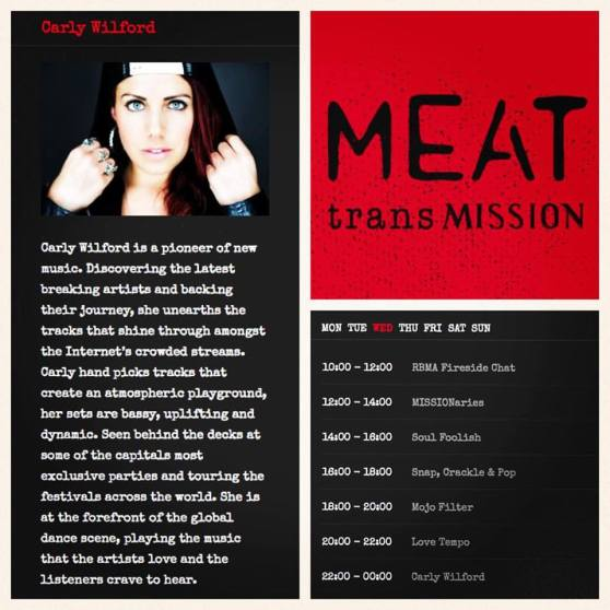 CARLY WILFORD MEATTRANSMISSION GUEST MIX