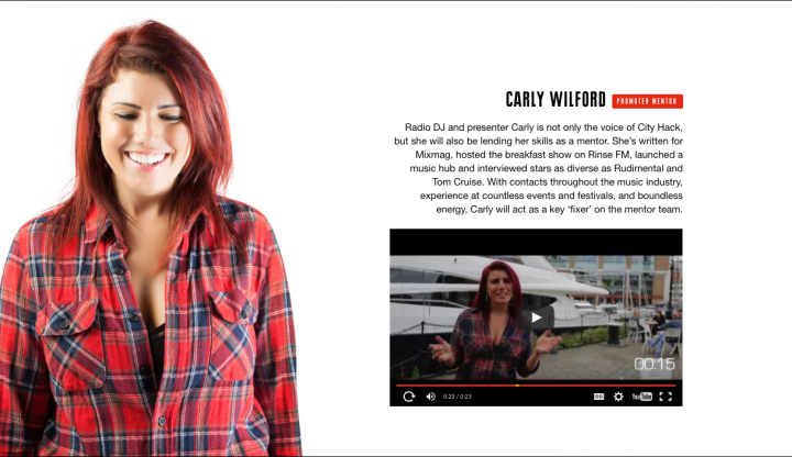 CARLY WILFORD CITY HACK