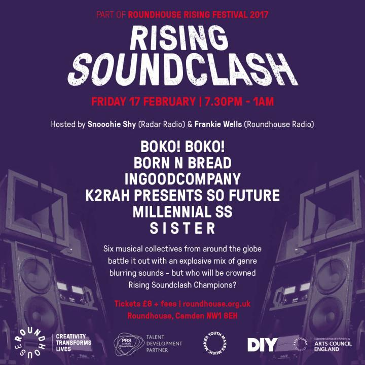ROUNDHOUSE RISING SOUNDCLASH SISTER CARLY WILFORD